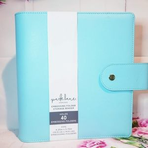 Park Lane A7 Storage Binder-Blue New